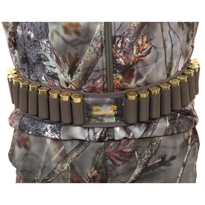 Cartouchière chasse calibre 12 camouflage marron - 1056651