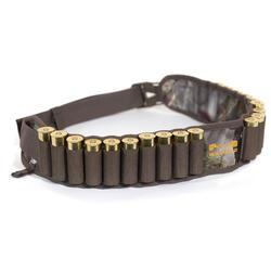 Cartuchera de caza calibre 12 camuflaje marrón
