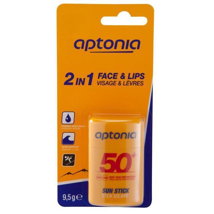 Sonnenschutz Pflegestift 2-in-1 für Gesicht und Lippen LSF50+