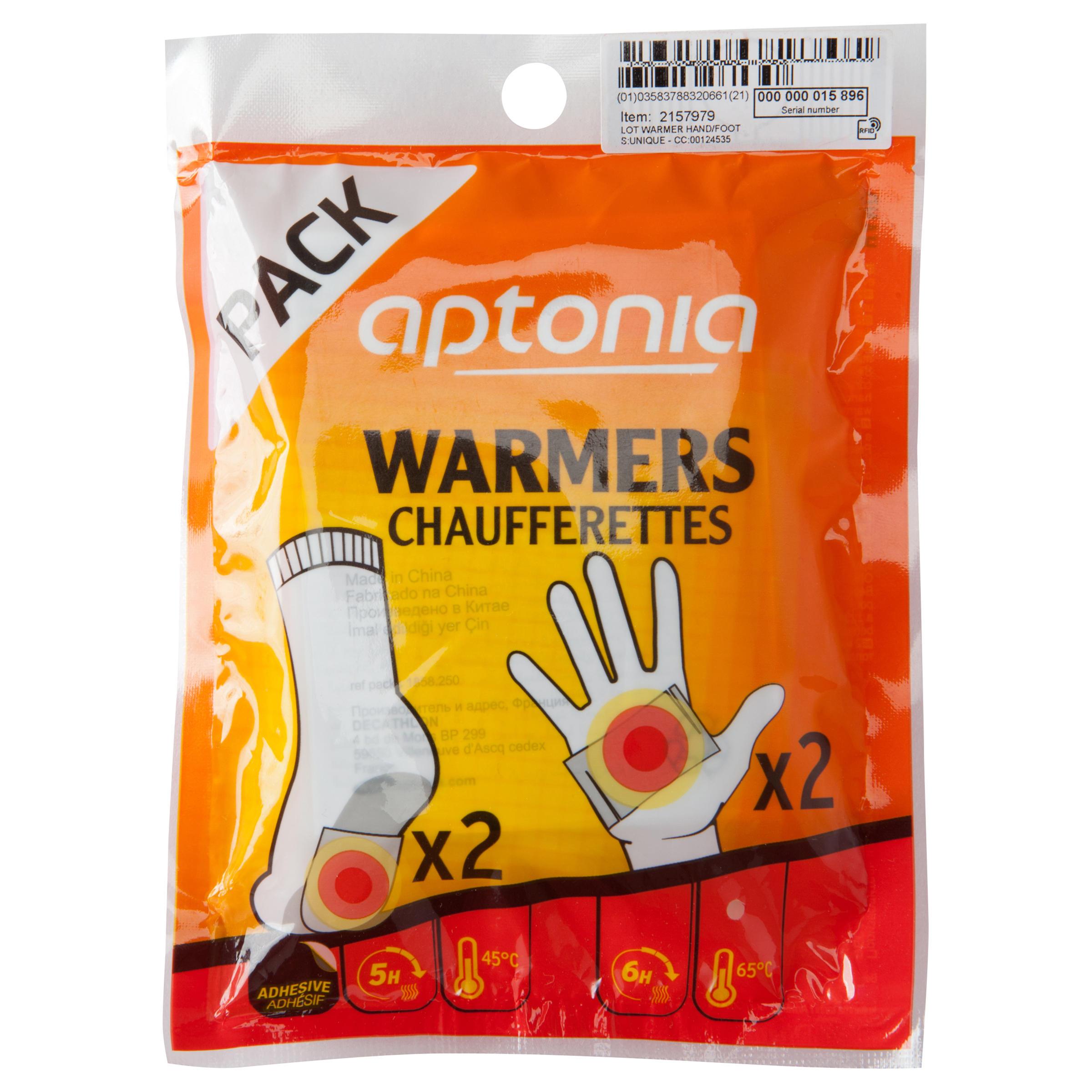 Aptonia Kennismakingspakje hand- en voetwarmers 2 x 2 stuks thumbnail