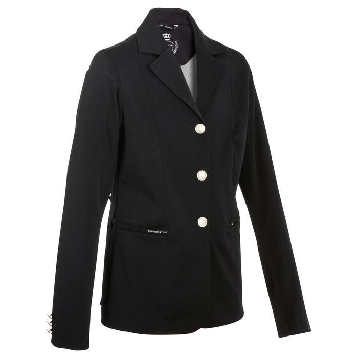 Veste de Concours équitation enfant COMP500 noir - 10569