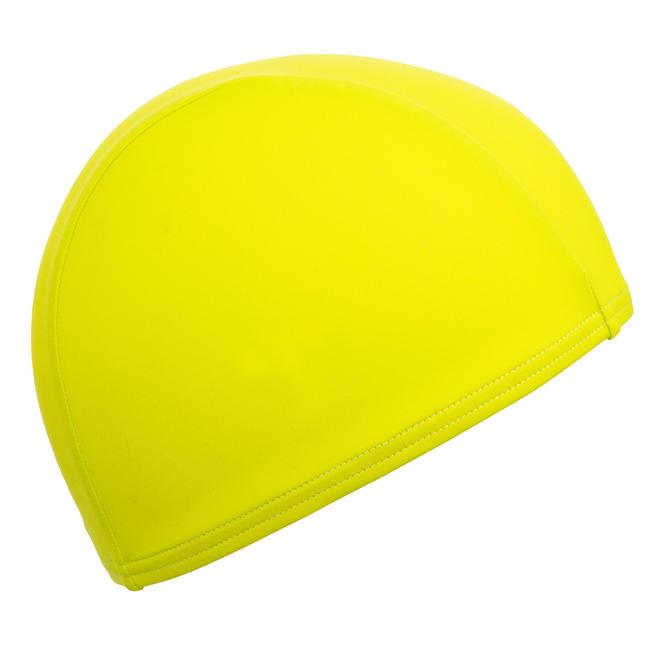 Swim cap mesh- green yellow