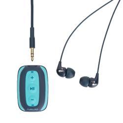 SwimMusic 100 Waterproof Swimming MP3 Player - Blue