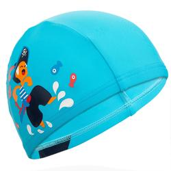 Mesh Print Swim Cap Size S - Pirate