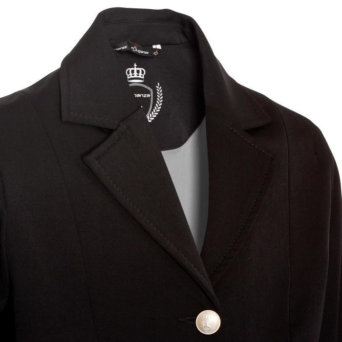 Veste de Concours équitation enfant COMP500 noir - 10570