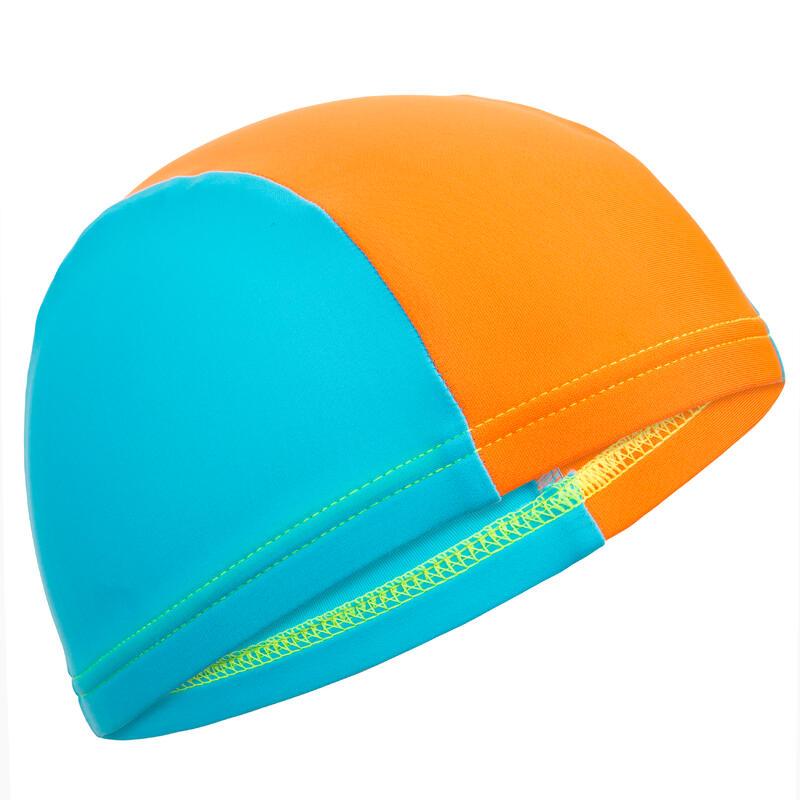 Baby Mesh Swim Cap - Blue Orange