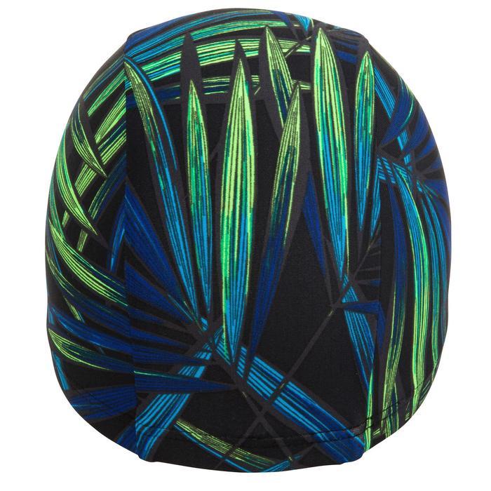 Bonnt de bain maille print taille L Opi noir vert
