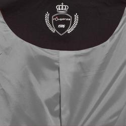 Wedstrijdjasje Classic voor kinderen ruitersport zwart - 10571