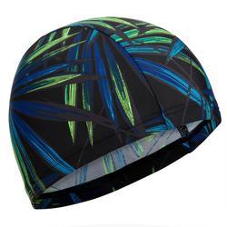 Textielbadmuts met print maat L Opi zwart/groen