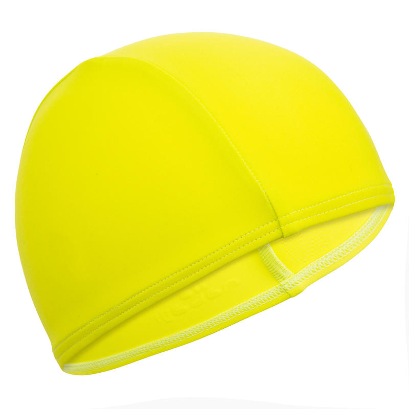 Swim cap mesh- green yellow