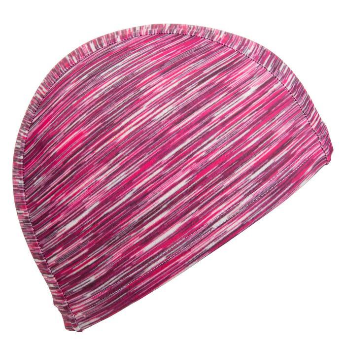 Badekappe Stoff Wolly rosa