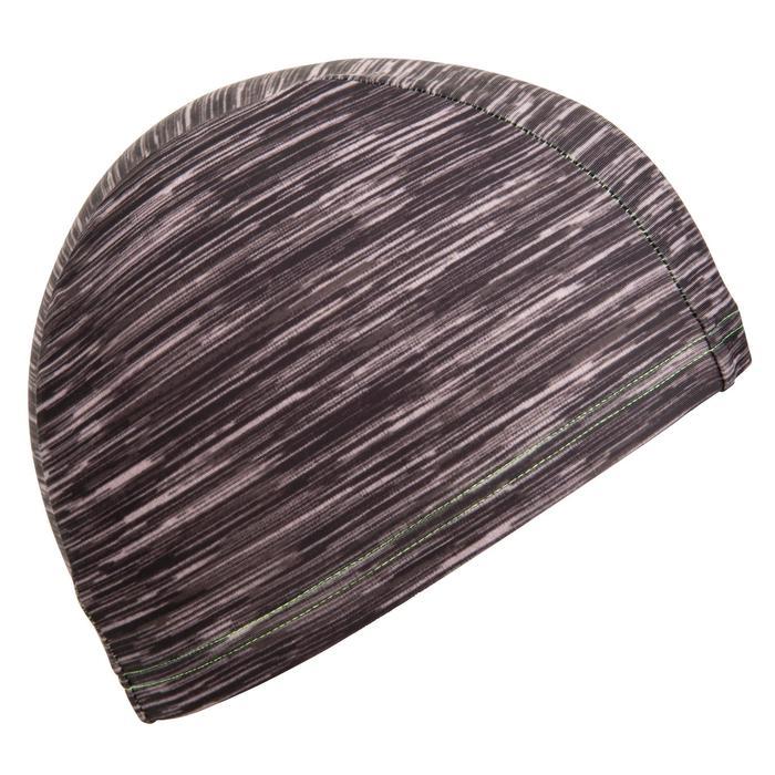 Badekappe Stoff Wolly Größe L schwarz
