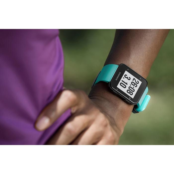 Reloj GPS con pulsómetro en la muñeca Forerunner 35 verde agua