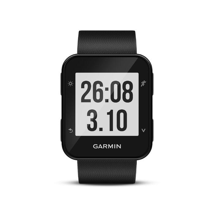 Reloj GPS con pulsómetro en la muñeca Forerunner 35 negro