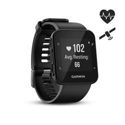 Gps-horloge met hartslagmeting aan de pols Forerunner 35 zwart