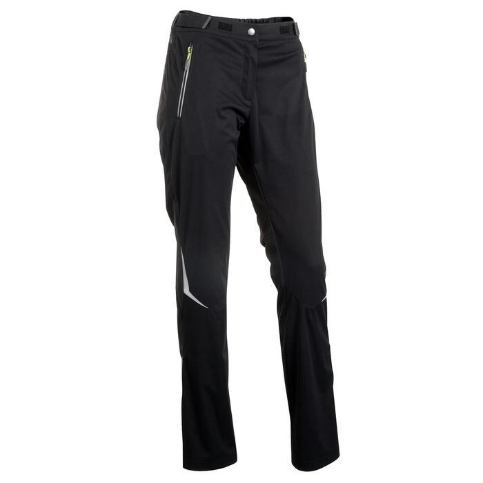 Pantalon de ski de fond coupe vent femme - 1057254