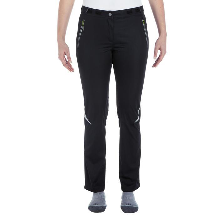 Pantalon de ski de fond coupe vent femme - 1057257