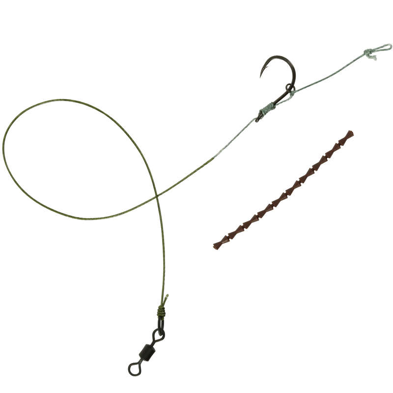 CARP RIGGED HOOKLENGTH Fishing - SN HOOK D RIG CAPERLAN - Carp Fishing