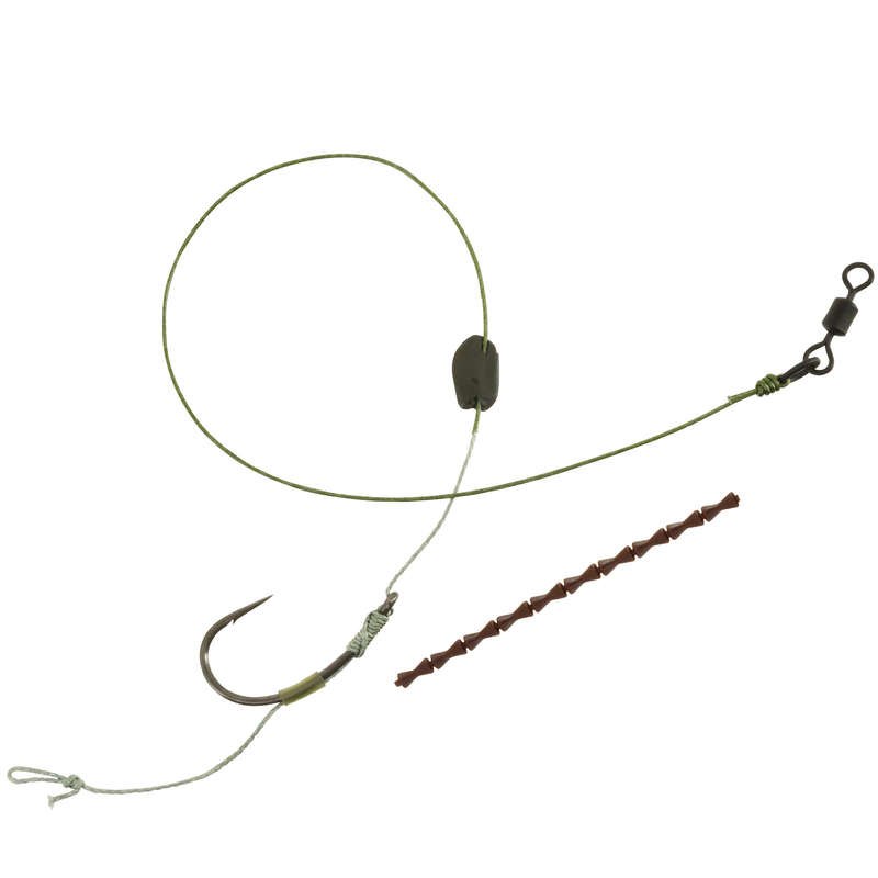 КАРПОВЫЕ ПОВОДКИ Рыбалка - Поводок Sn hook floating  CAPERLAN - Снасти