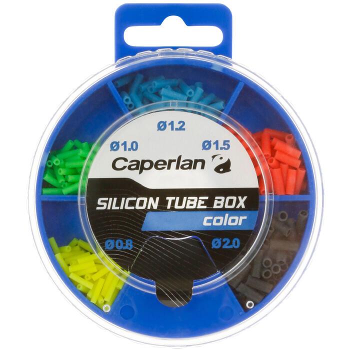 KIT PÊCHE AU COUP SILICONE TUBE BOX TRANSPARENT - 1057345