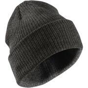 Siva smučarska kapa FISHERMAN za odrasle