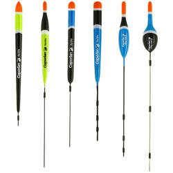 FLOTTEUR DE PÊCHE KIT FLOAT RIVERLAKE 1G X6