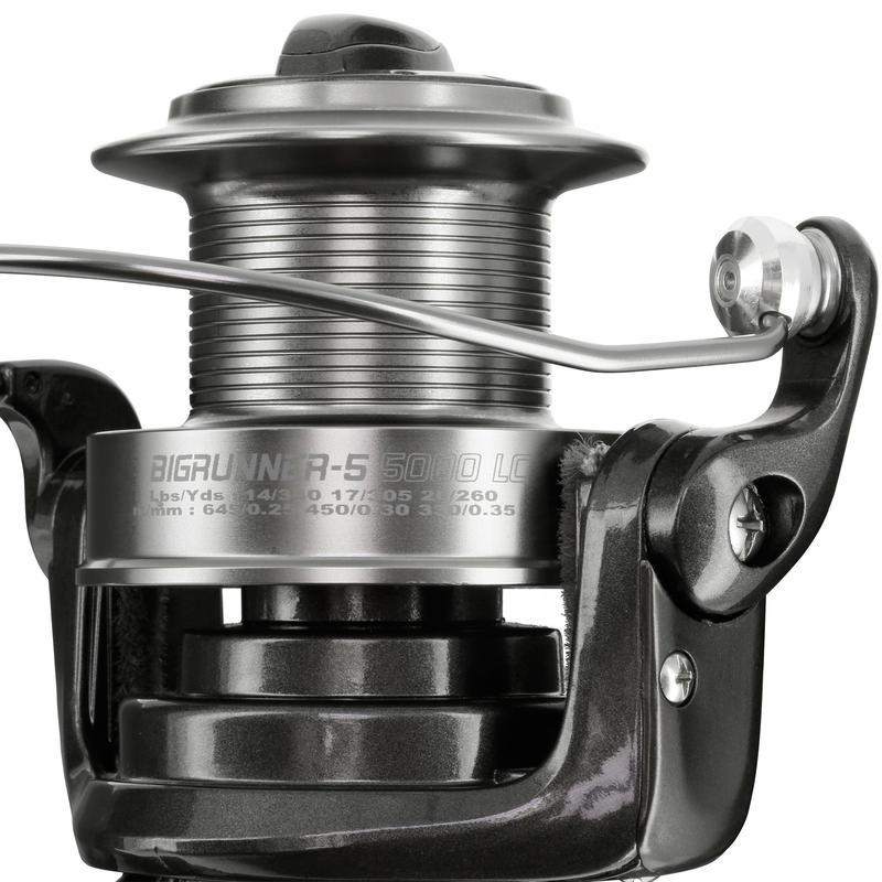 LONG DISTANCE BAITRUNNER REEL CARP FISHING BIGRUNNER-5 5000 LC