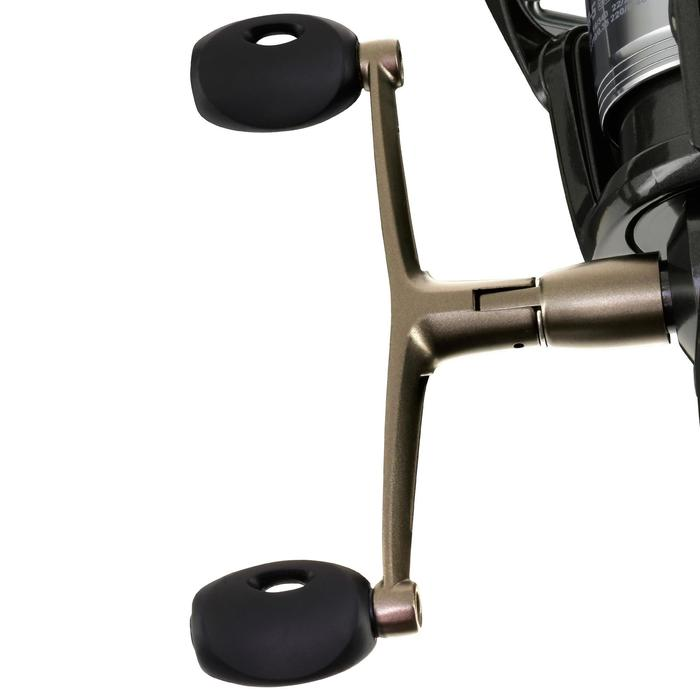 Angelrolle Doppelkurbel mit Freilauf Bigrunner-5 5000 DH Karpfenangeln