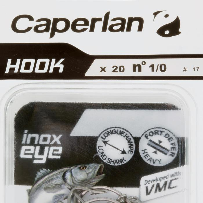 Einzelhaken Hook Inox Eye