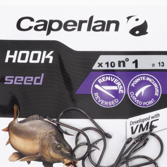 Haak karpervissen Hook Seed - 1057983