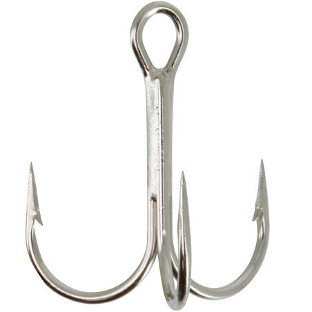 FISHING HOOK TREBLE NICKEL