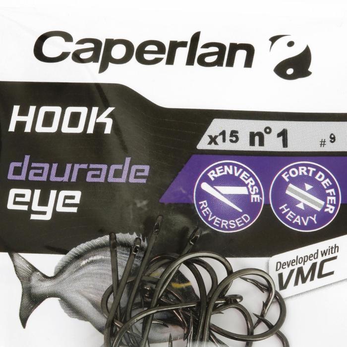 Enkelvoudige haak hengelsport Hook Daurade Eye