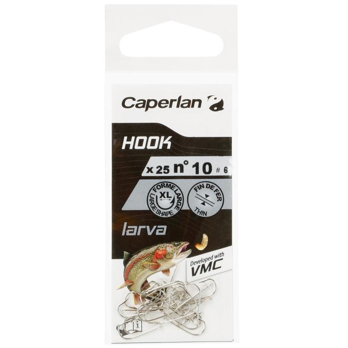 HAMEÇON SIMPLE PÊCHE HOOK SPECIAL LARVA - 1058014