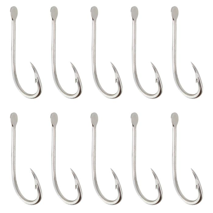 Hameçon simple pêche en mer HOOK INOX OCTOPUS