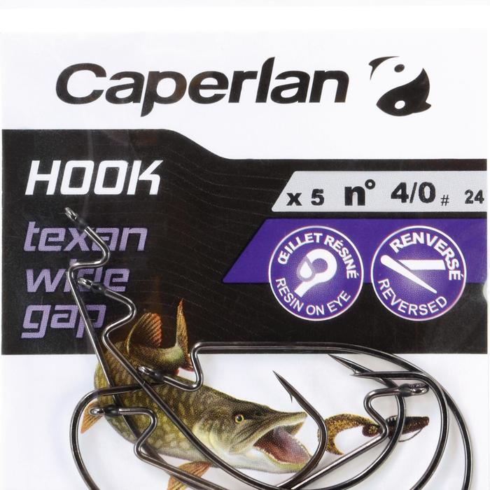 ANZUELO TEXAN PESCA HOOK TEXAN WIDE GAP 4/0