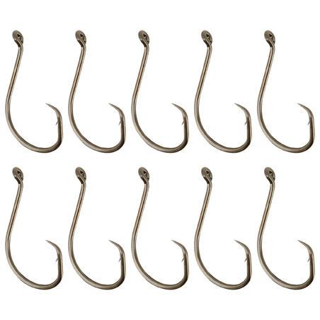 Sea fishing eyed hook CIRCLE EYE HOOK