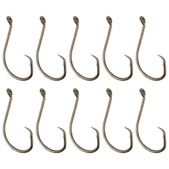 Enkelvoudige vishaak zeehengelen Hook Circle Eye