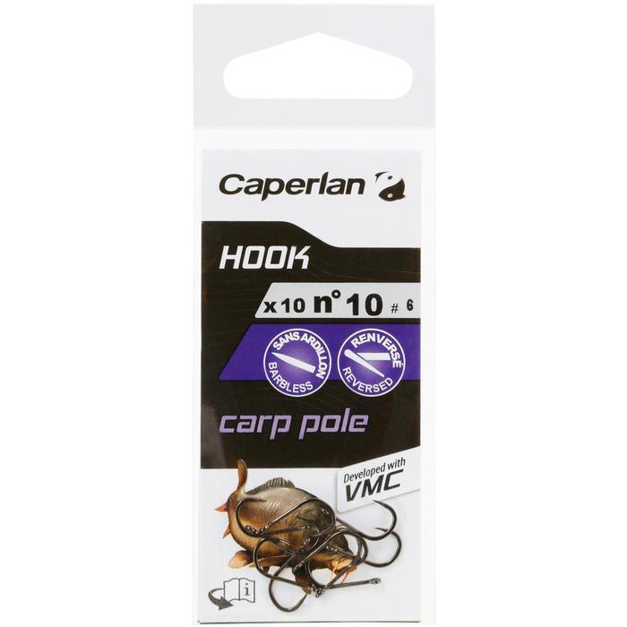 Enkelvoudige haak hengelsport Hook Carp Pole - 1058091