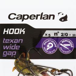 Angelhaken Hook Texan Wide Gap Gr. 2/0