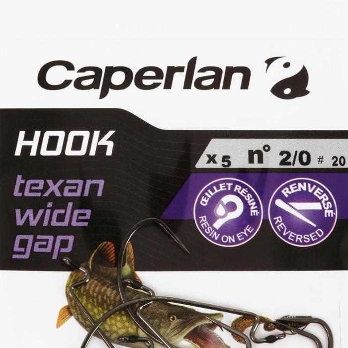 Haak Hook Texan Wide gap 2/0