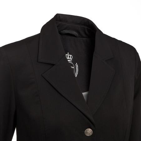 Comp 500 Women's Competition Horse Riding Jacket - Black