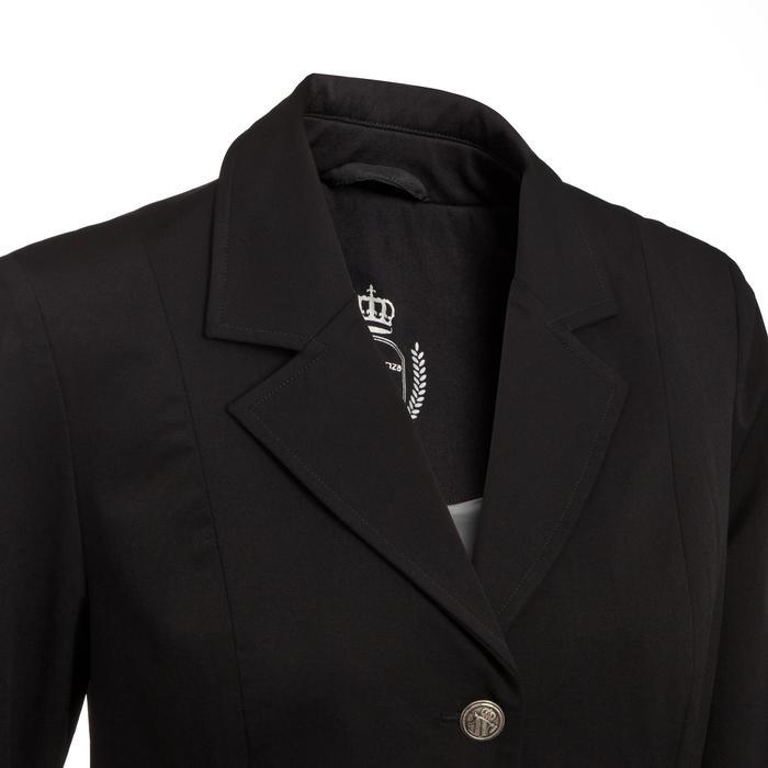 Veste de Concours équitation femme COMP500 noir - 10581