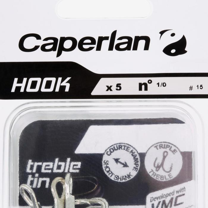 Dreg zeehengelen Hook Triple Tin
