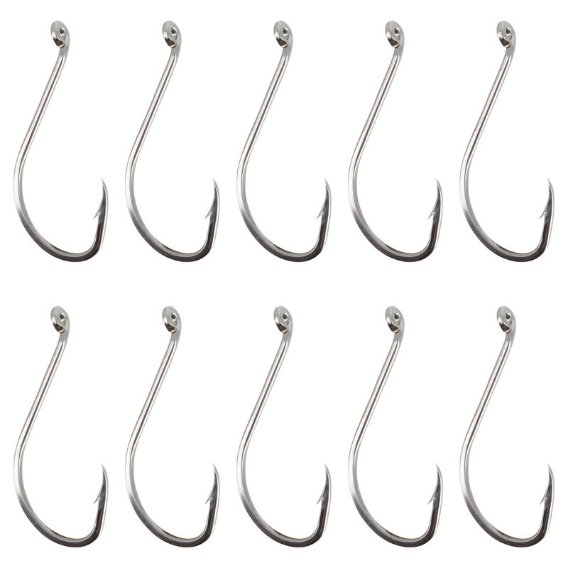 OCTOPUS STAINLESS STEEL EYE HOOK SINGLE FISHING HOOK