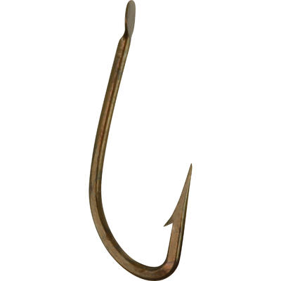 HAMEÇON SIMPLE PÊCHE HOOK BRONZE