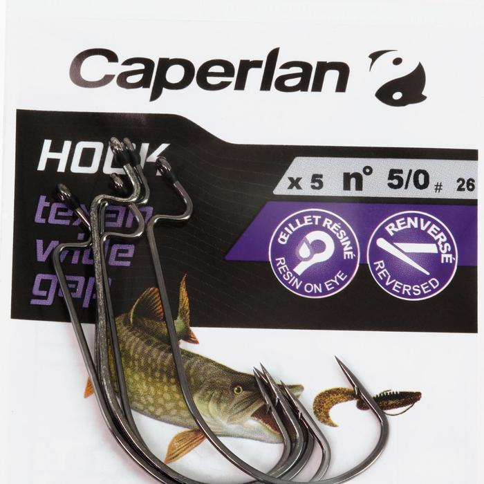 ANZUELO TEJANO PESCA HOOK TEXAN WIDE GAP 5/0