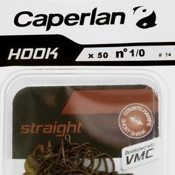 Einfachhaken Angelhaken Hook Straight
