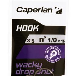 Angelhaken Hook Wacky Dropshot Gr. 1/0