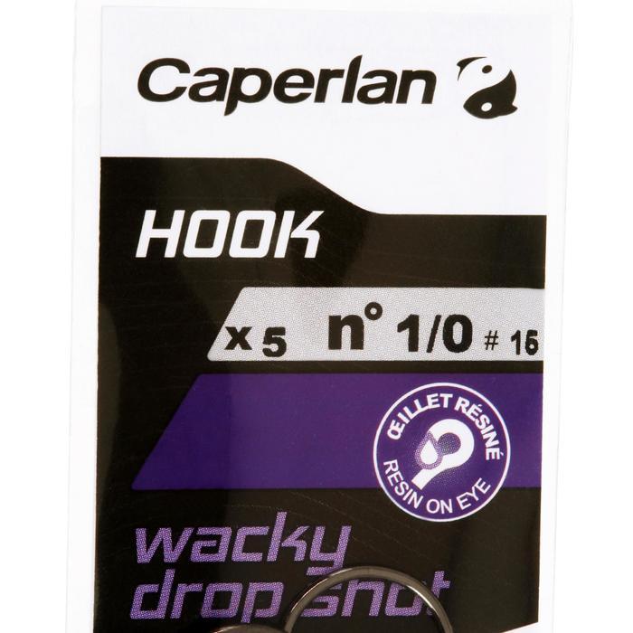 Enkele haak hengelsport Hook Wacky Dropshot 1/0