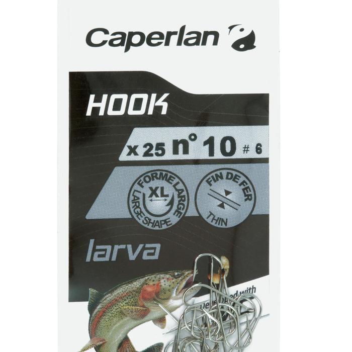 HAMEÇON SIMPLE PÊCHE HOOK SPECIAL LARVA - 1058158
